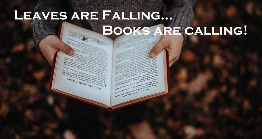 Autumn is for reading.